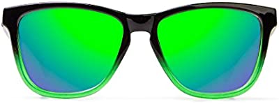 D. Franklin Roosevelt, Gafas De Sol Unisex, Verde / Negra, 53