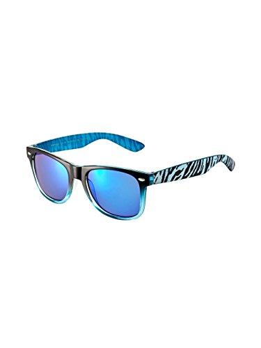 NAME IT mini Jungen Sonnenbrille UV400 bis ca 6 Jahre (Black(Blau))