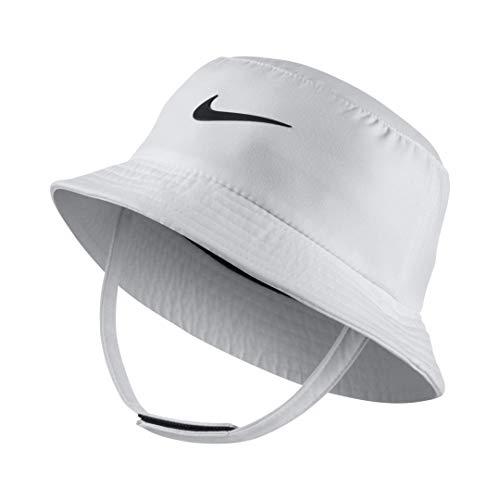 Nike Dry Infant/Toddler Girls\' Bucket Hat (White (001)/Black/White, 2-4T)