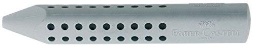 Preisvergleich Produktbild Faber-Castell 187100 - Dreieckradierer Grip 2001, grau