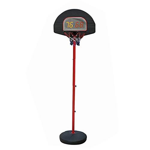 Basketballanlage Indoor-Basketballständer für Kinder, tragbarer Basketballrahmen für Zuhause im Freien, Verstellbarer Basketballnetzpfosten (dritte Hebebühne) Erstellen Sie Ihren eigenen Basketbal