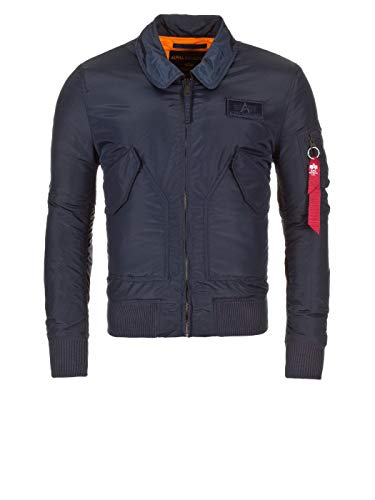 Alpha Industries CWU VF TT Jacke Rep Blue , Size:xl -