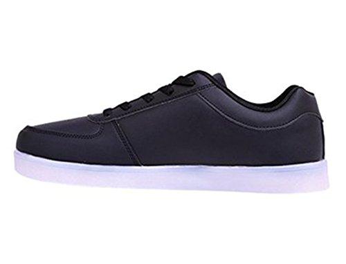 Sneaker kleines Leuchtende junglest® Handtuch Led present Schuhe Schwarz OY1xq1n