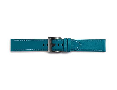 Samsung GP-R600BREEBAB Leder Armband für Gear Sport Blau