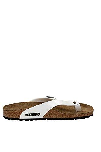 Birkenstock , Tongs pour femme Blanc Cassé Bianco 37 Blanc