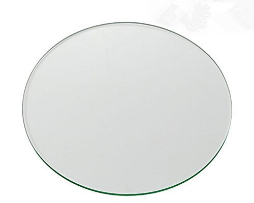 wisamic CLEAR Circle Borosilikatglas für 3D Drucker Borosilikat Glas Plattform für Afinia und Up. 3D-Drucker 120* 3mm - Quadratische Glas-plattform