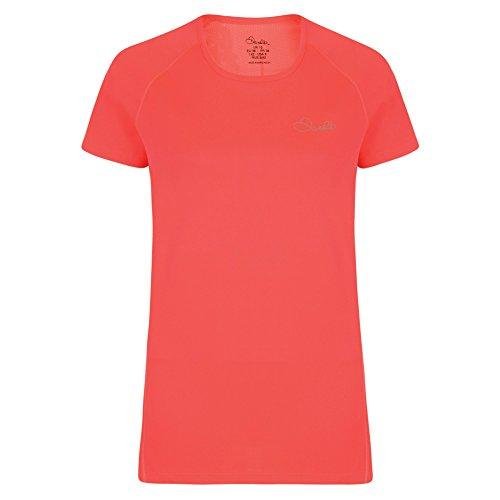 Dare 2b pour femme trois coups de T-shirt de Rose néon