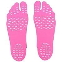 Fuß Pads, Strand unsichtbare rutschfeste Fuß Aufkleber Schuhe Stick On Sohlen Fuß Pads wasserdichte weiche Klebepad... preisvergleich bei billige-tabletten.eu