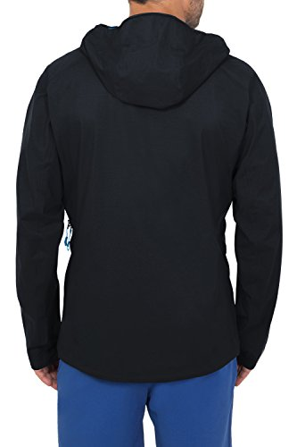 VAUDE Herren Jacke Croz 3L Jacket black/Blue