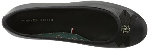 Tommy Hilfiger Damen C1285laudia 2a Geschlossene Ballerinas Schwarz (Black 990)