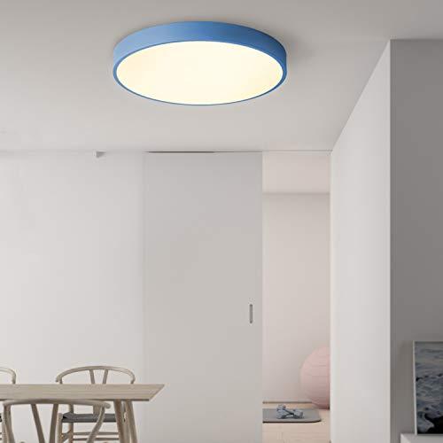 2 QAZQA Modern Deckenleuchte/Deckenlampe/Lampe/Leuchte Drum ...