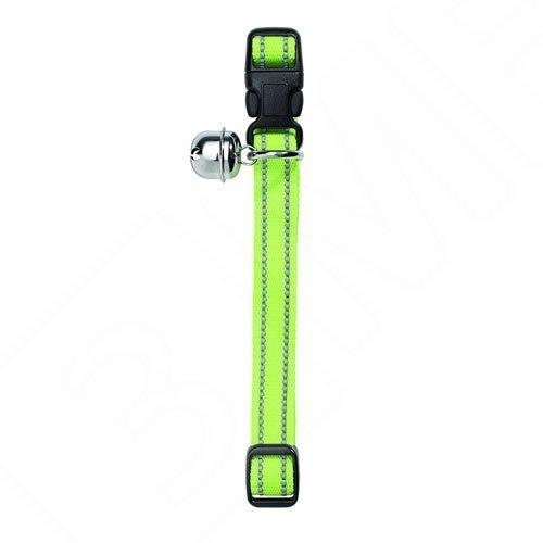 katzenhalsband-flashlight-nylon-gelb-reflektierend