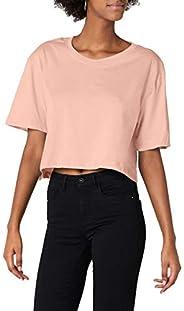 Urban Classics Dames oversize Cropped Top Ladies Short Tee
