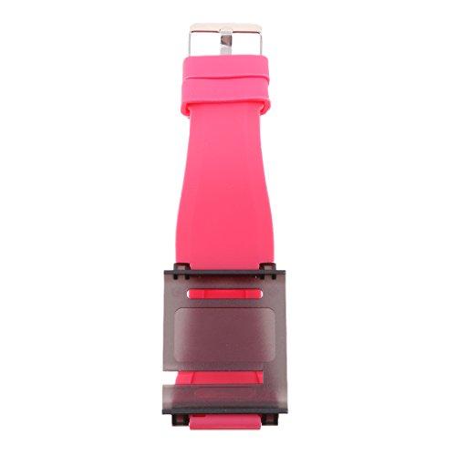 kokiya Aluminium Armband Uhrenarmband Handgelenk Abdeckung Für IPod Nano 6 6. Gen. - Rosa 3 Ipod Nano 3. Generation Armband