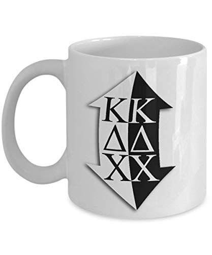 Kappa Delta Chi - Sorority Mug - Sisters Pledges House Gift 11 oz Ceramic Cup for Coffee Tea Drinks - 11 oz