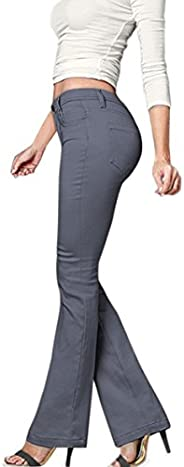 HyBrid & Company Women's Skinny Bootcut Stre