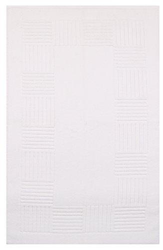 Betz Badvorleger Elegance Duschvorleger Badteppich Badematte 1150g/m² 100% Baumwolle 50x90 cm Farbe...
