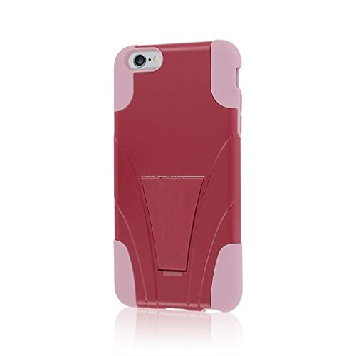 "MPERO IMPACT X Series Kickstand Case Tasche Hülle for Apple iPhone 6 Plus 5.5"" - Coral / Mint Pink,IMPACT X"