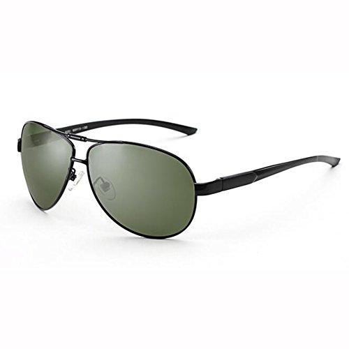 ZX Sonnenbrille AC-Objektiv UV400 Klassisch Beiläufig Männlich Weiblich Al-Mg Fahrt Gewidmet Fahrbrille (Farbe : 1)