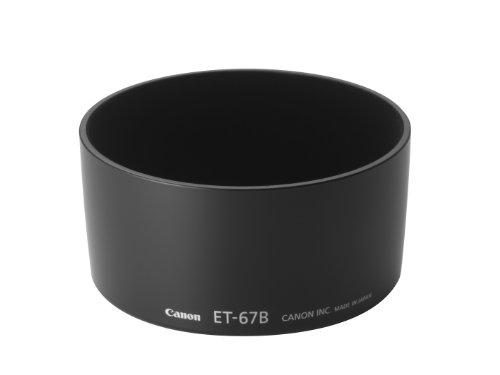 Canon ET-67B - Parasol para objetivos Canon EF-S 60mm f/2.8L Macro IS USM, Negro