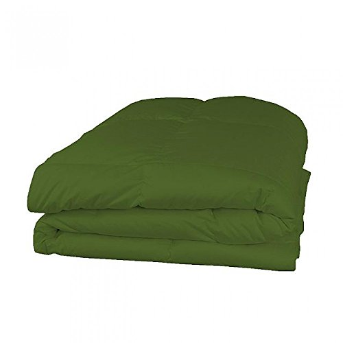 Cozy Sheets 600tc Italienisches Finish 1PC 200GSM Faser Füllen Tröster + 4PC-Bettlaken-Set Olive Farbe uk-small Double Größe 100% ägyptische Baumwolle-Durch Paradies Overseas -