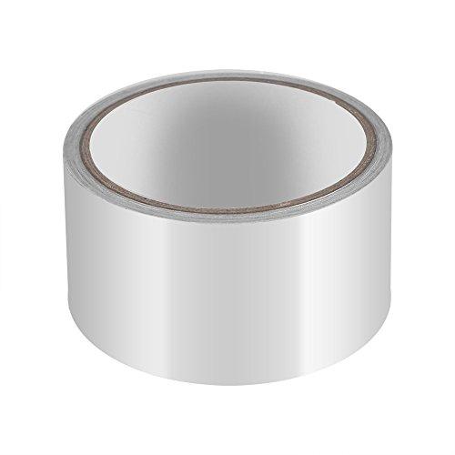 Aluminiumfolie Dichtband Isolierband Hitzeschild Klebeband Sealing Band Thermische Resist Duct Reparaturen Werkzeug 5 cm x 10 m -