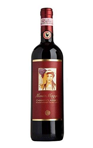 Vino Rosso - Chianti Classico - Vino Toscano - Chianti Gallo Nero - Vino Biologico - Vino Italiano - Vino Chianti - Fattoria di Montemaggio - Annata 2013