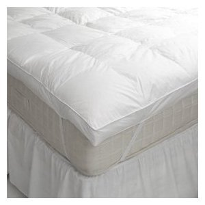 "The Bettersleep Company Double Bed Hotel Quality 4"" (10cm) Deep Mattress Topper - Extra Comfort & Anti Allergenic Pure Luxury"