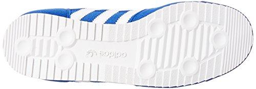 adidas Originals Dragon, Baskets Basses Mixte Enfant Bleu (collegiate Royal/ftwr White/red)