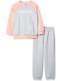 Adidas Linear Jogger Fleece Sudadera y Pantalones, Sin género