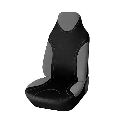 MAXTUF Einzelsitzbezug Vordersitzbezug Universal Autositz mit Seitenairbag Auto Vordere Sitzbezug Autositzbezug Sitzbezug Fahrersitz Beifahrersitz