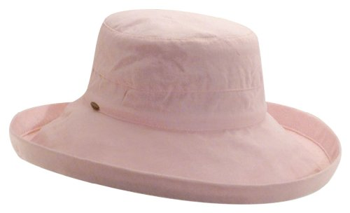 scala-womens-cotton-big-brim-hat-pink-one-size