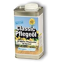 Berger-Seidle Classic Pflegeöl für Parkett, Holzböden, 1 Liter