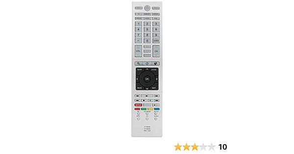 Allimity Ct 90429 Ct 90430 Rm L1328 Fernbedienung Ersetzt Für Thoshiba Led Lcd Hd Tv Ct