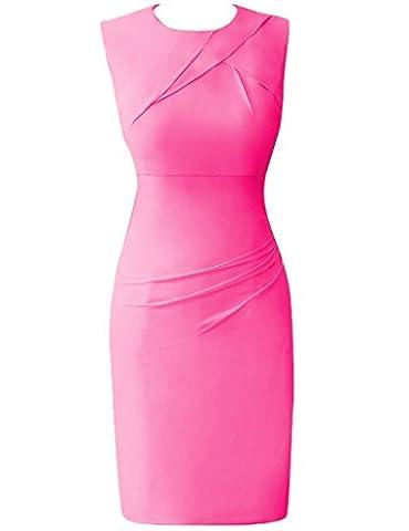 HUINI Frauen Art Und Weisekurzschlu? Chiffon Cocktail Abschlussball Kleidet B¨¹ro Arbeits Formale Kleider Size 48