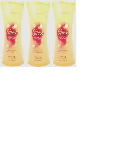 caress-moisturizing-body-wash-glowing-touch-with-shea-cream-gentle-skin-brighteners-18ounce-bottles-