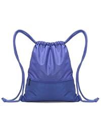 Travel Drawstring Storage Bag Light Weight Swimming Backpack-Large-Royal Blue
