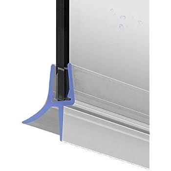 100cm M22 -- Ersatzdichtung für 5mm/6mm/ 7mm/ 8mm Glasdicke Wasserabweiser Duschdichtung Schwallschutz Duschkabine
