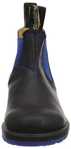 Blundstone Classic, Stivaletti Unisex Adulto Nero (Black/Blue)