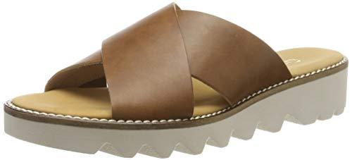 Gabor Shoes Damen Comfort Sport Riemchensandalen, Braun (Peanut 54), 39 EU