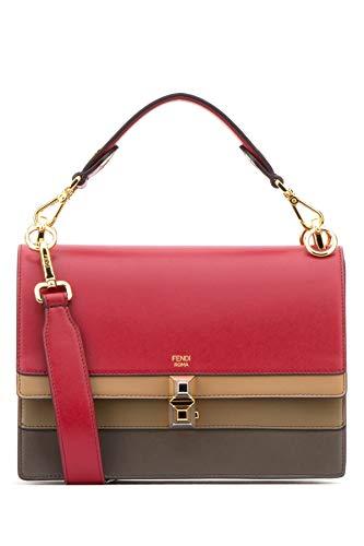 Fendi Damen 8Bt283a5avf14mx Rot Leder Handtaschen
