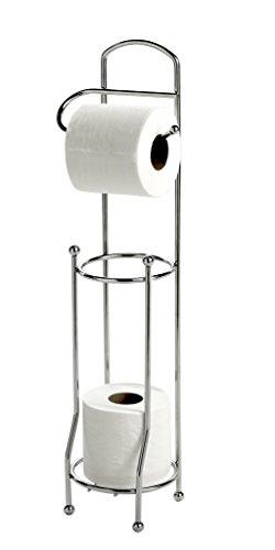Showerdrape papier de toilette Wire & Porte-rouleau de rechange