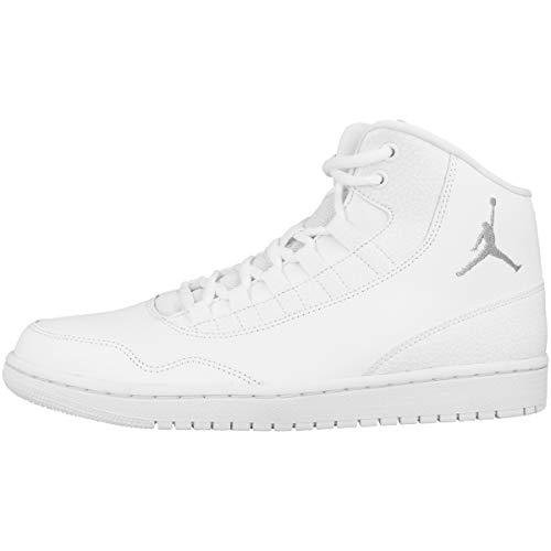 Nike JORDAN EXECUTIVE, Herren Hallenschuhe, Mehrfarbig (White/Wolf Grey/White 100), 43 EU
