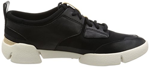 Clarks Damen Tri Accord Geschlossene Ballerinas, Schwarz (Black Leather), 38 EU -