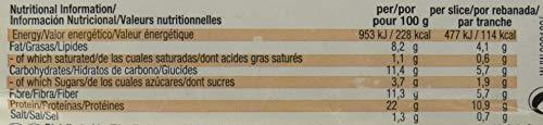 Weider Pan Proteico con 11g de proteína y un 5% de zanahoria por rebanada. Con mucha...
