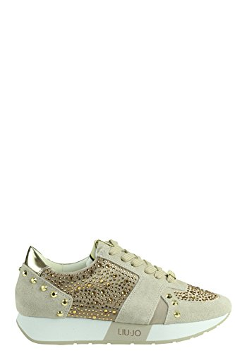 Liu Jo Shoes S16195T038 Sneakers Donna Scamosciato Coloniale Coloniale 41