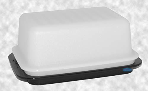 Tupperware® Butterdose schwarz-weiß Butterschatz für Butter bis 6,5 cm Höhe! C21 -