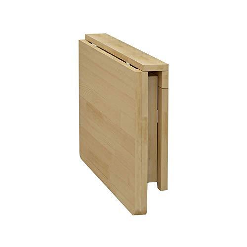 MSchunou Klappregalhalter Klapptisch. Massivholz Klapptisch Wandregalhalter Platzsparend für Tisch Werkbank, (Size : 70 * 40cm)