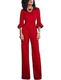 suchergebnis auf f r overall damen festlich rot damen bekleidung. Black Bedroom Furniture Sets. Home Design Ideas