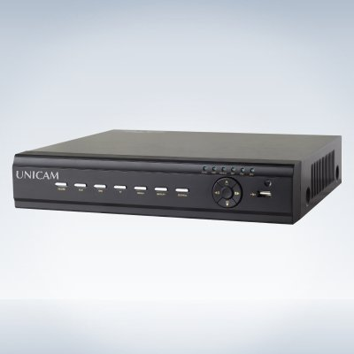 Unicam 8 Channel DVR with Multi Screen Surveillance, Record, Snapshot and PTZ Control with Built in DDNS Server